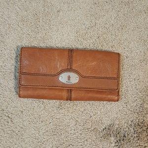 Fossil Flap Clutch wallet